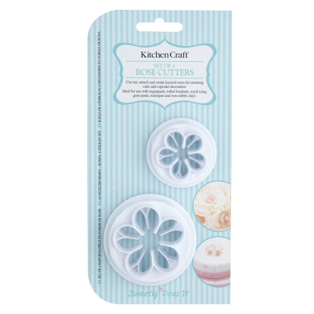 Set of 4 KitchenCraft Sweetly Does It Decorating Nails
