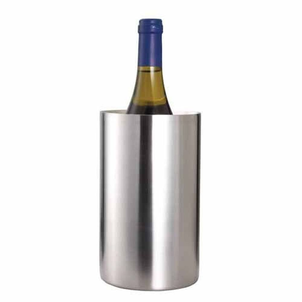 BarCraft Connoisseur Stainless Steel Double Walled Wine Cooler