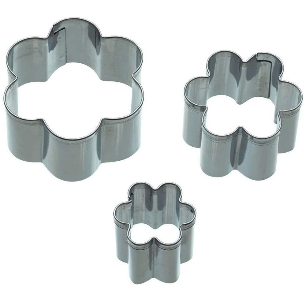 Sweetly Does It Flower Fondant Cutters (Set of 3)