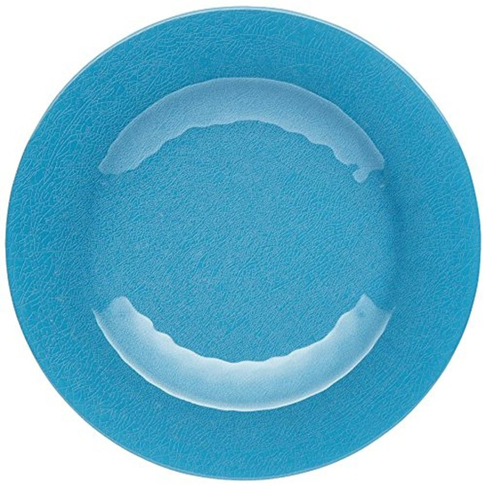 Kitchen Craft Blue We Love Summer Ceramic-Style Melamine Side Plate