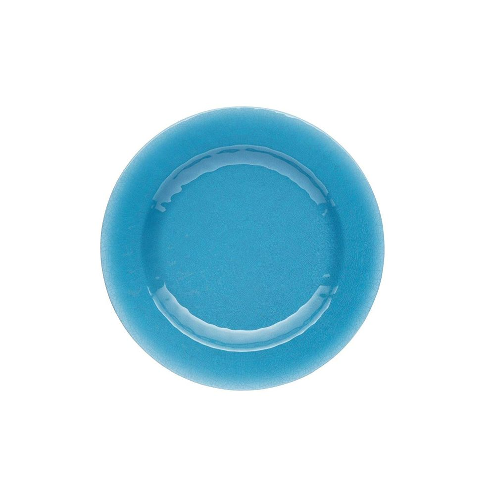 Kitchen Craft Blue We Love Summer Ceramic-Style Melamine Dinner Plate