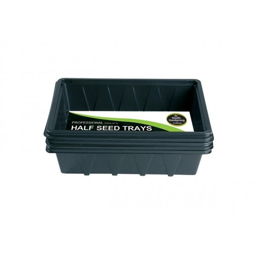 Garland Half Seed Trays (Pack of 5)