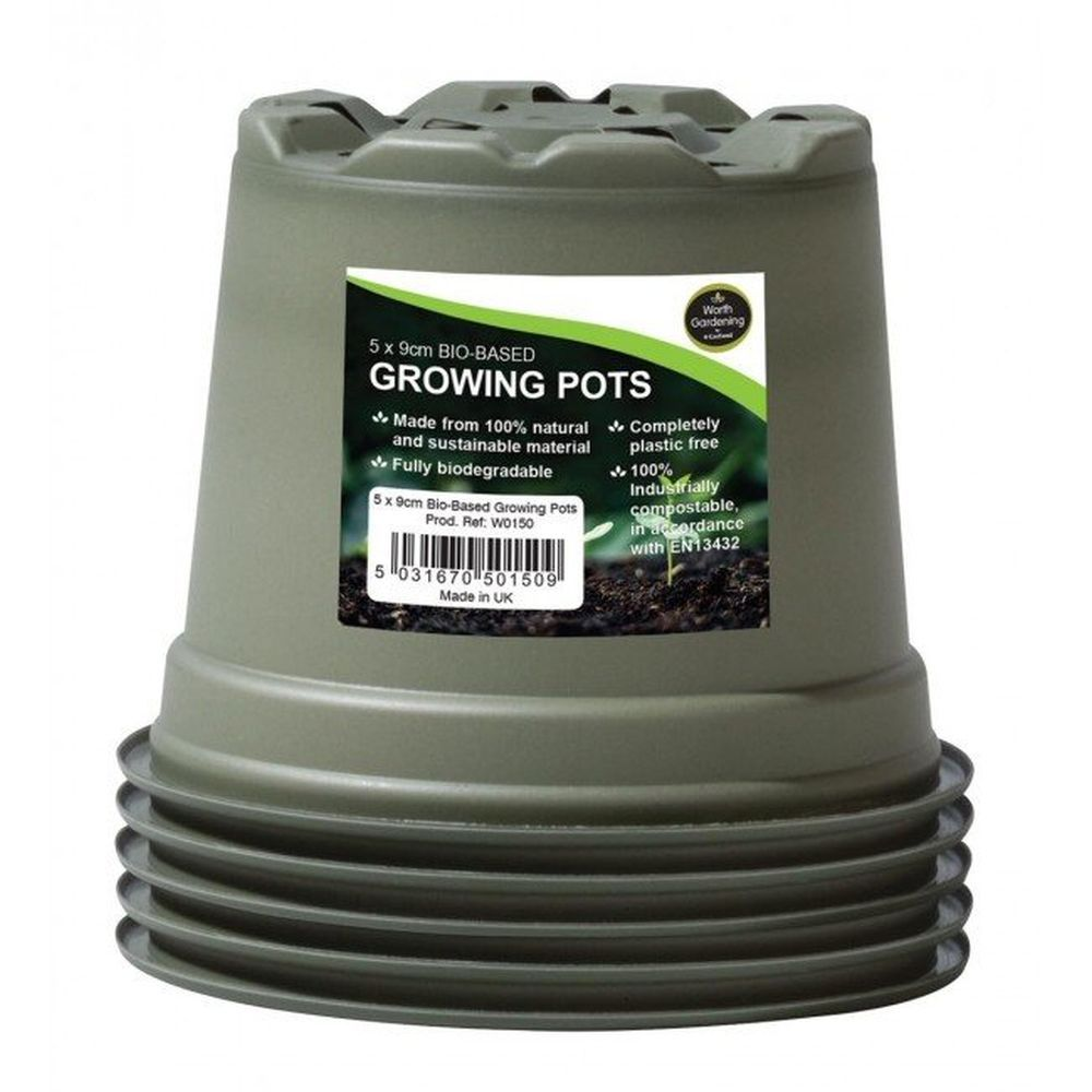 Garland Bio-Based Growing Pots (Pack of 5)