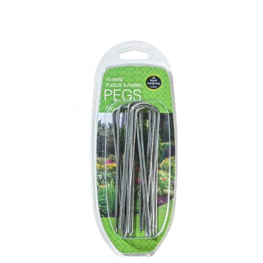 Garland Fleece And Fabric Pegs (Pack of 10)