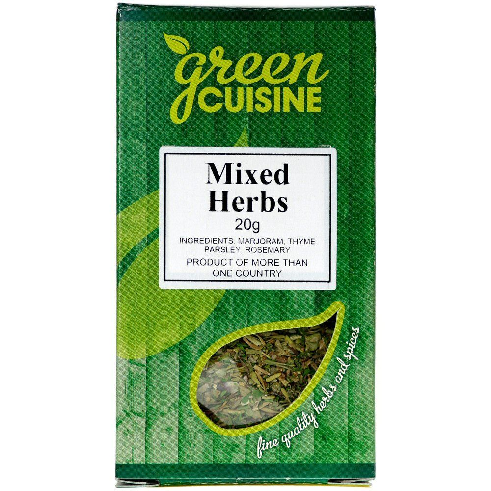 Green Cuisine 20g Mixed Herbs