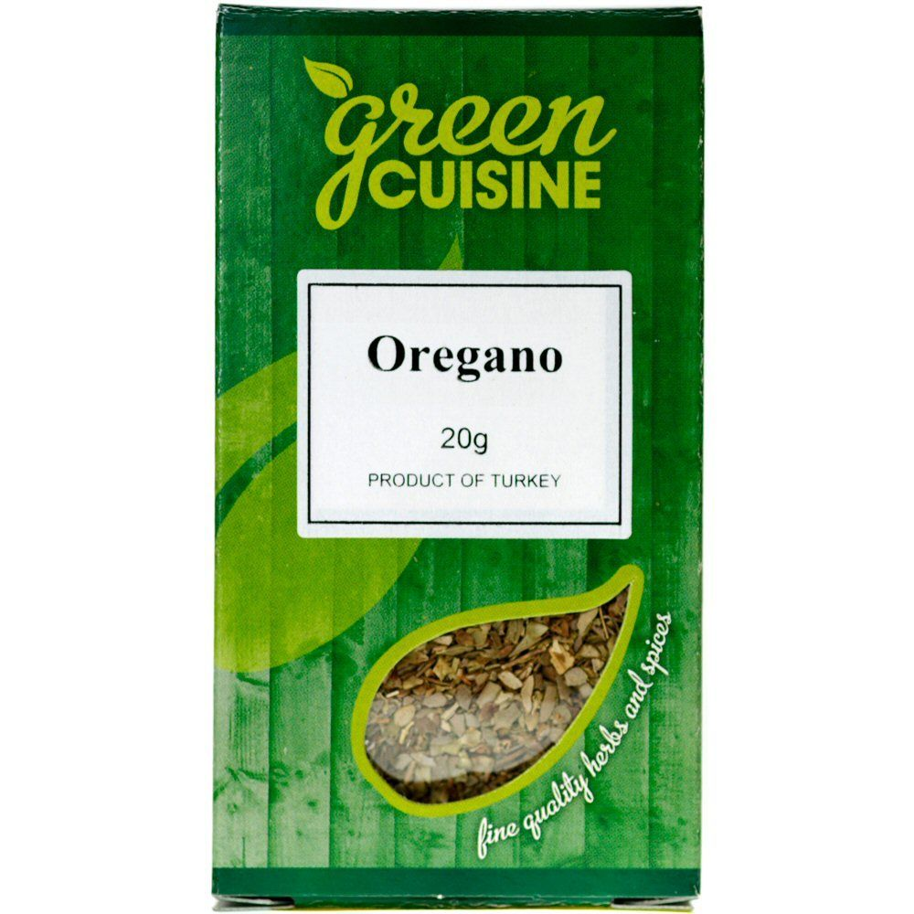 Green Cuisine 20g Rubbed Oregano