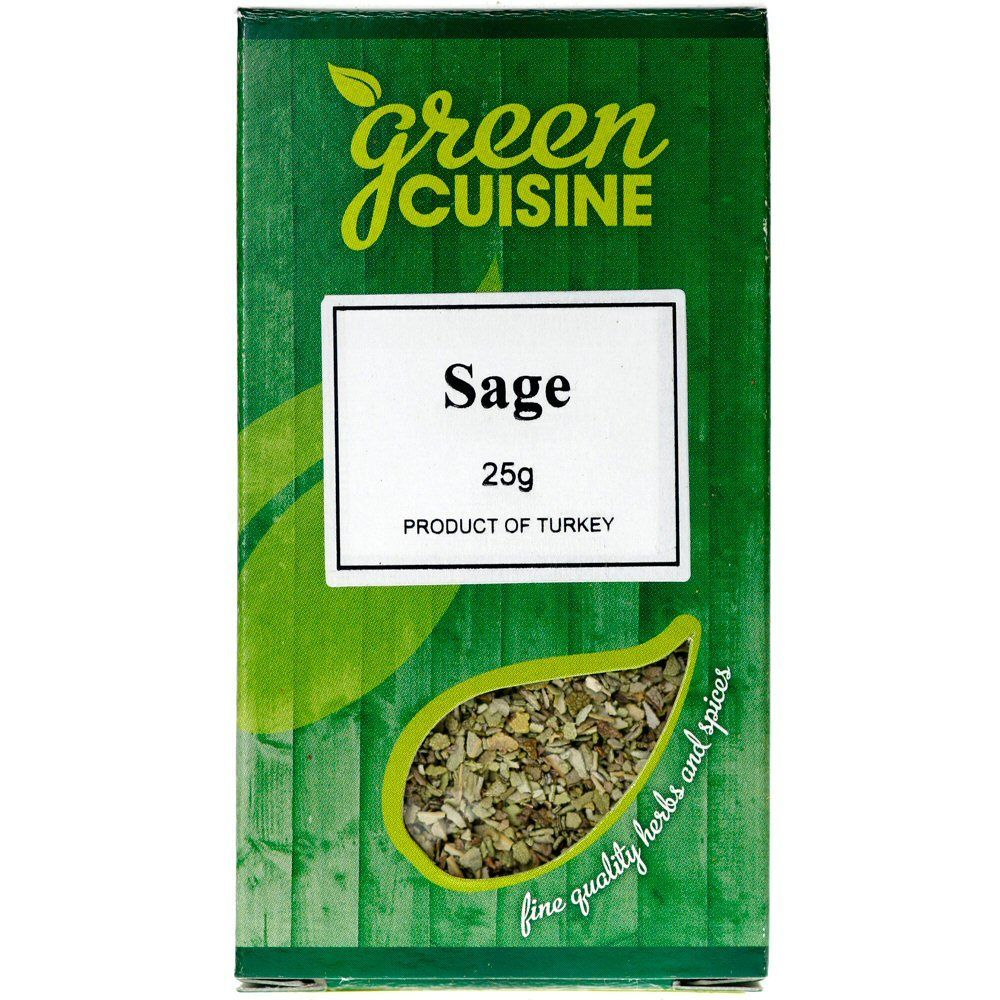 Green Cuisine 25g Rubbed Sage