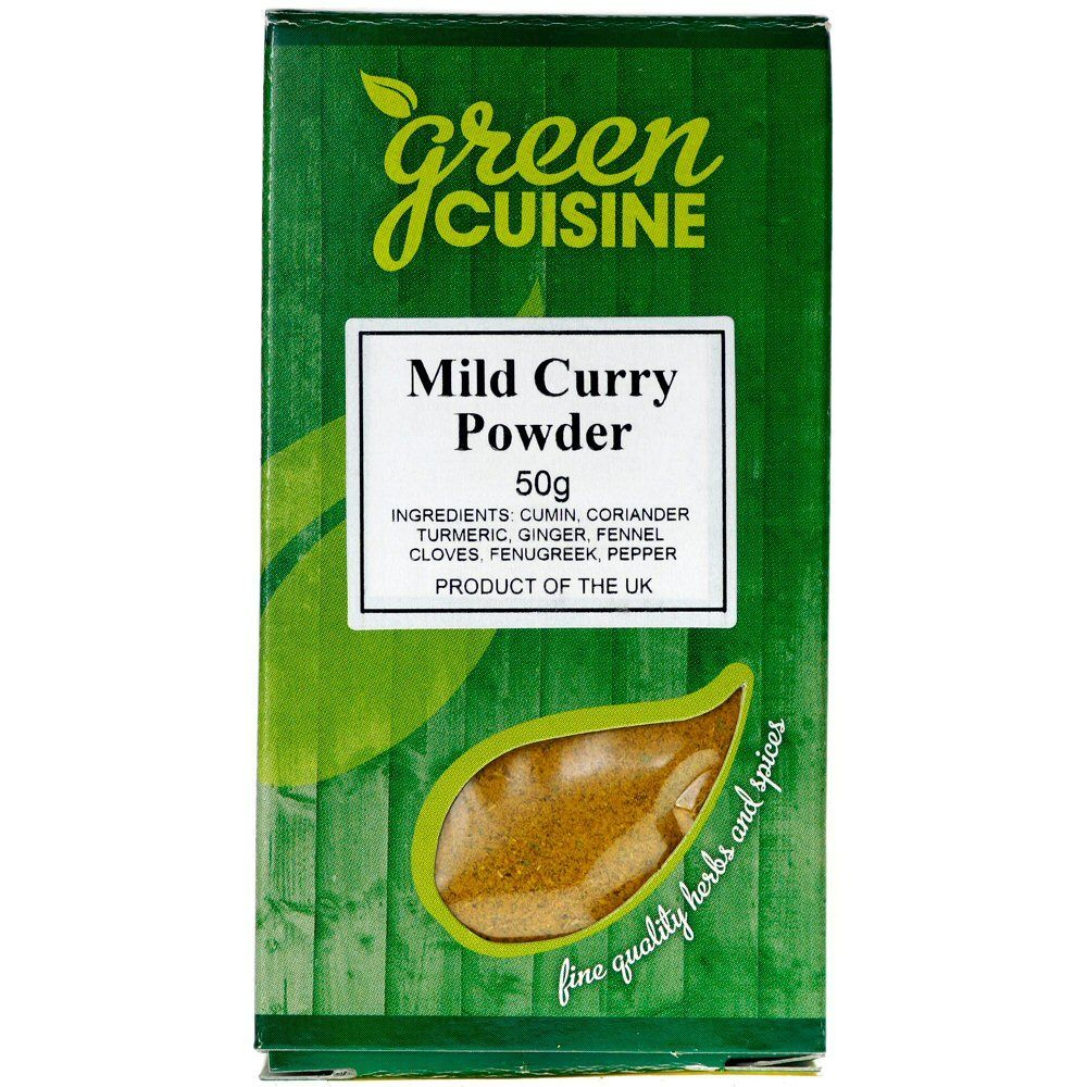 Green Cuisine 50g Mild Curry Powder