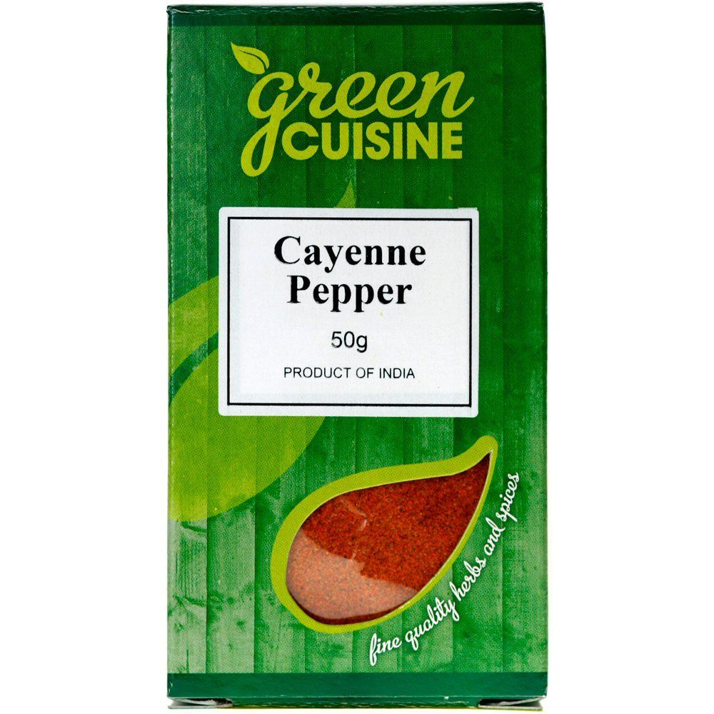 Green Cuisine 50g Cayenne Pepper