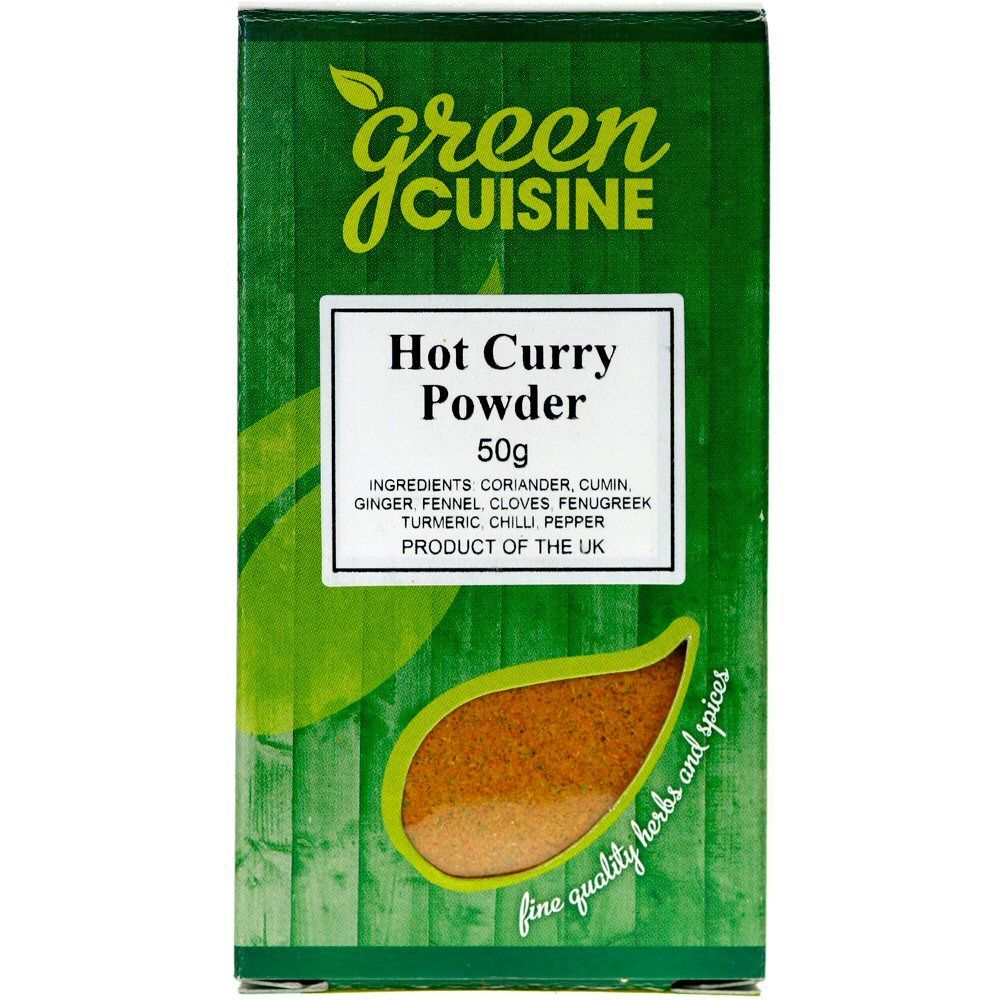 Green Cuisine 50g Hot Curry Powder