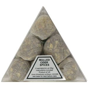 Suma 6x25g Mulled Cider Spices