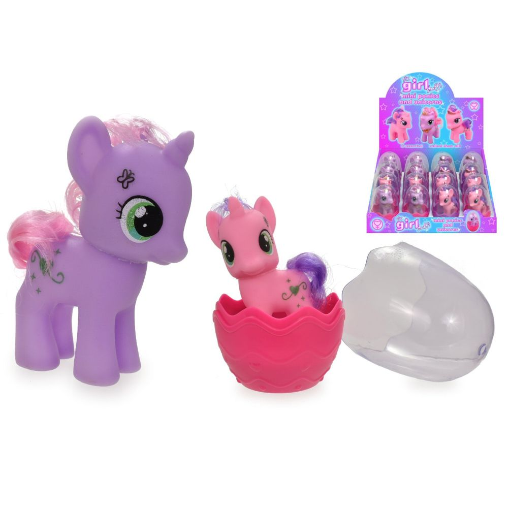 Kandy Toys Mini Ponies And Unicorns (Choice of 3)