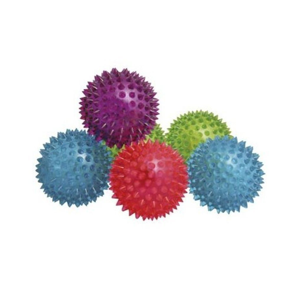 Spikey Bounce Ball With Light And Squeaker