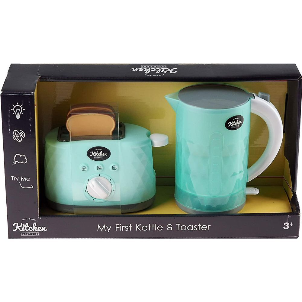 My First Kettle & Pop Up Toaster Set with Light & Sound