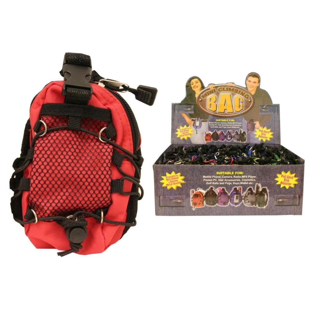 Mini Climbing Bag (Assorted Design)