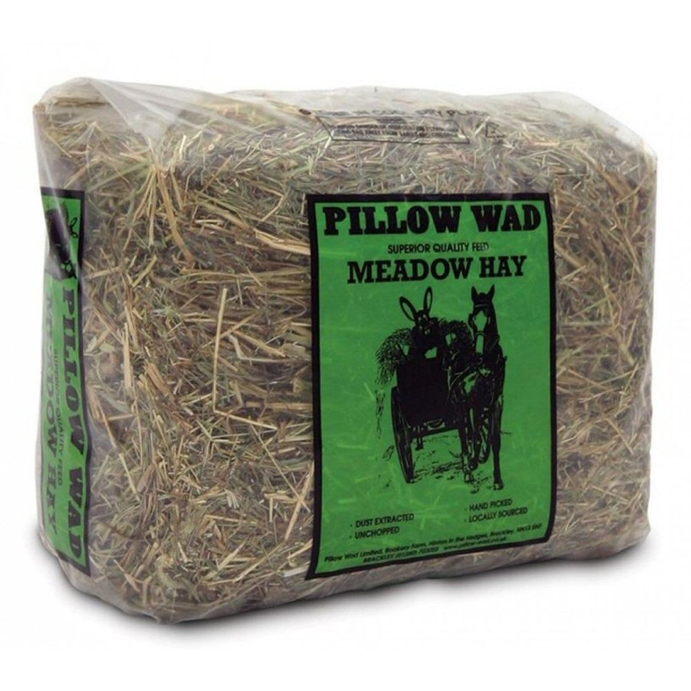 Pillow Wad Small Meadow Hay Bale
