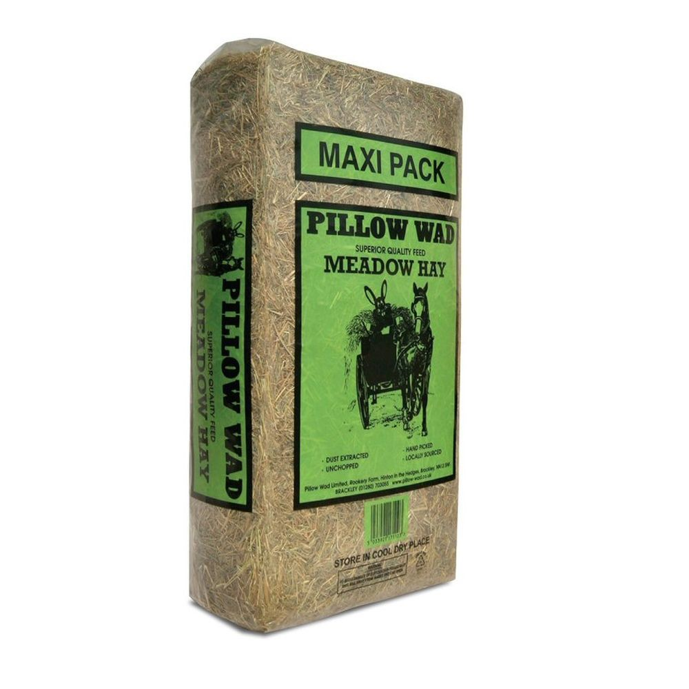 Pillow Wad Meadow Hay Maxi Pack Bale 3.75kg