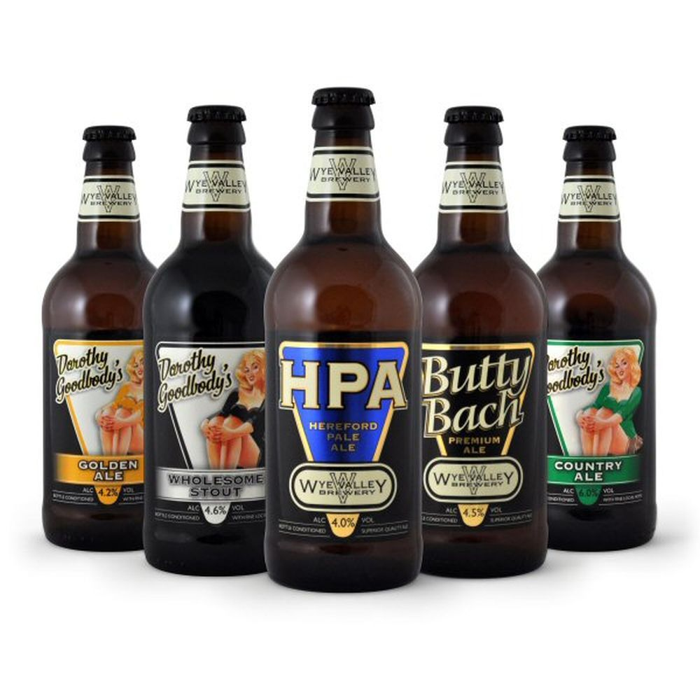 Wye Valley 500ml HPA Hereford Pale Ale