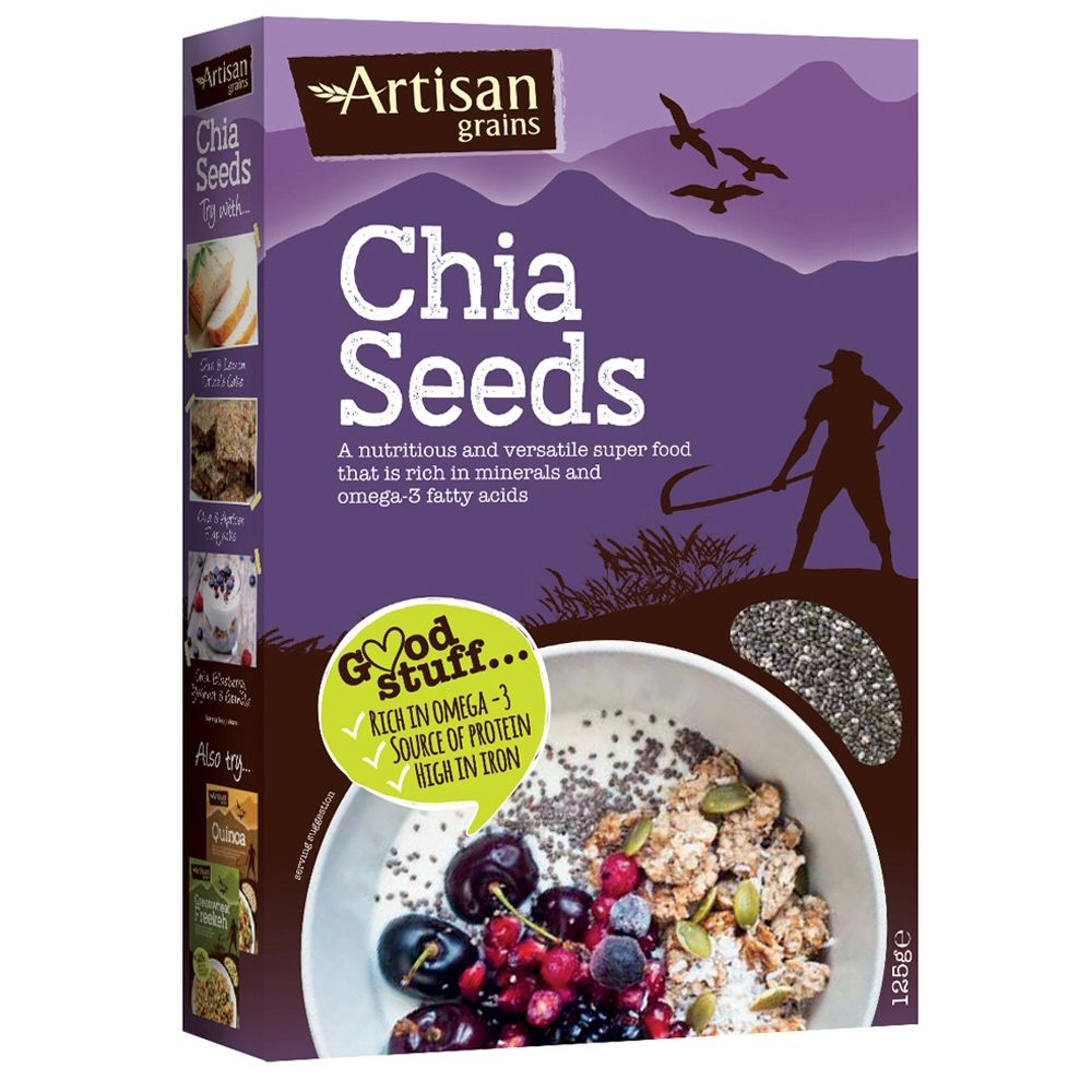 Artisan Grains 125g Chia Seeds
