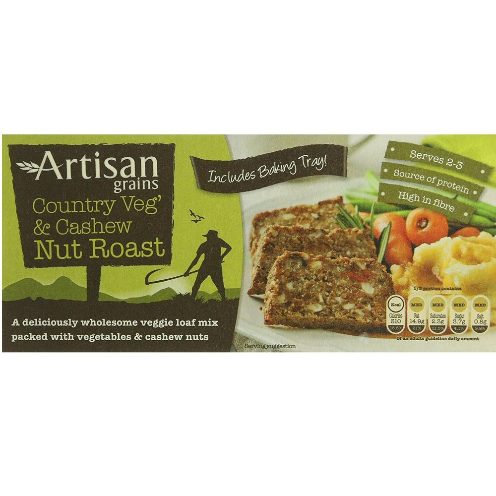 Artisan Grains Country Veg And Cashew Nut Roast