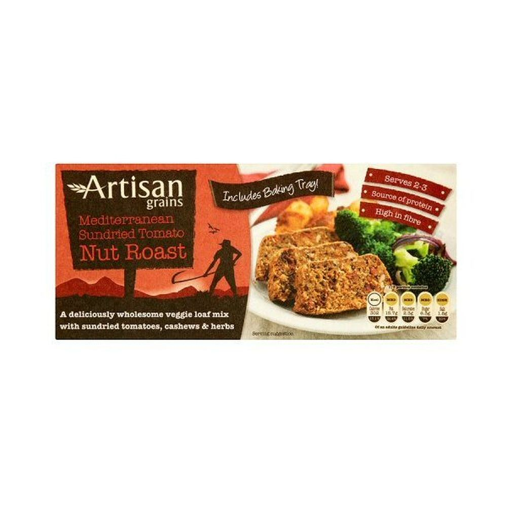 Artisan Grains Sundried Medium Tomato Nut Roast