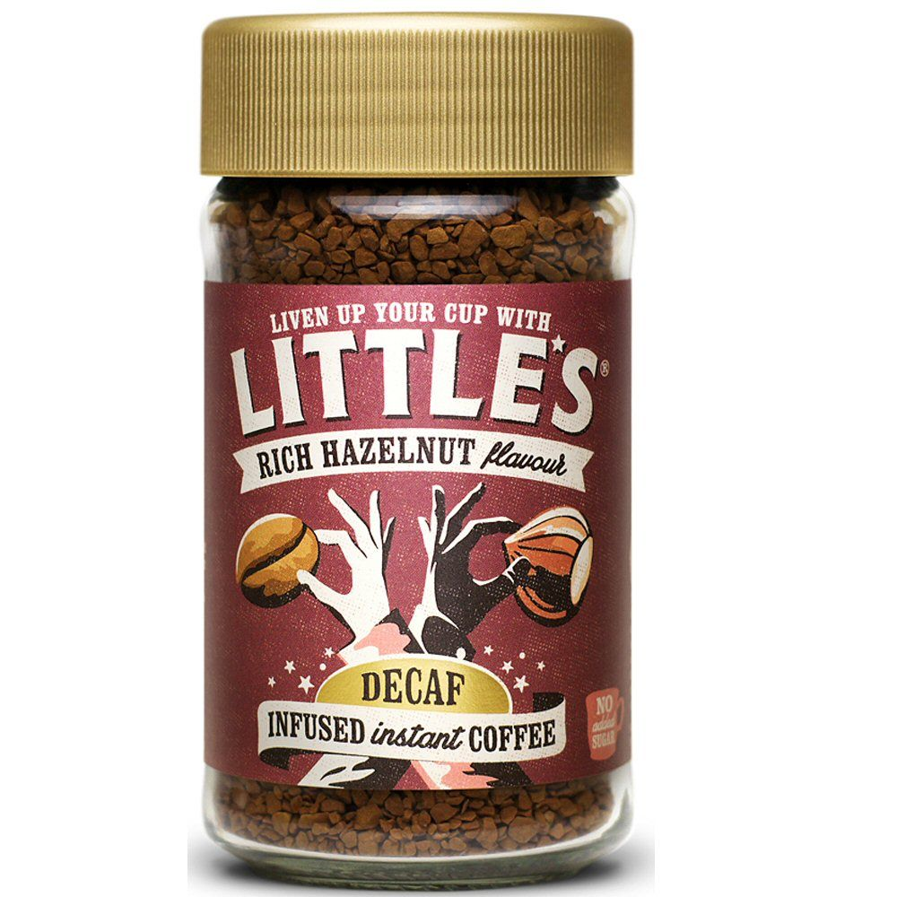 Little's 50g Decaf Rich Hazelnut Instant Coffee