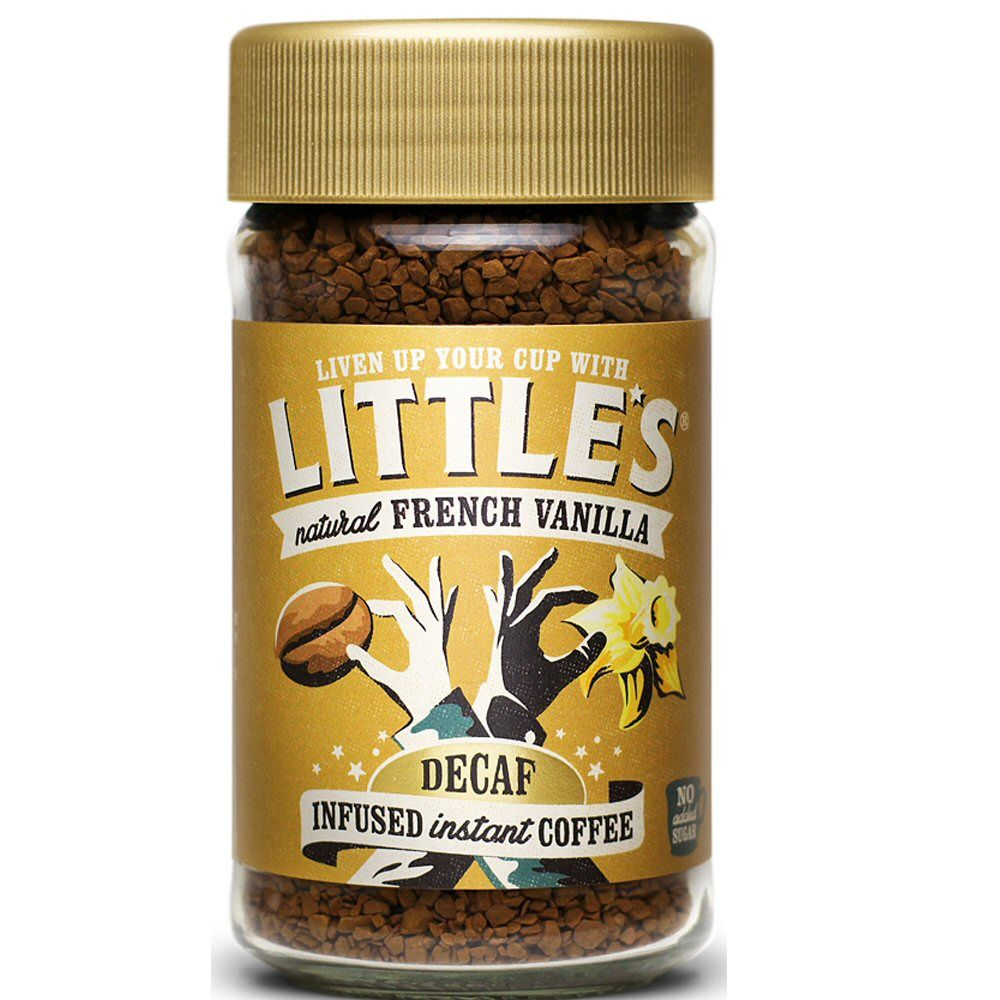 Little's 50g Decaf French Vanilla Instant Coffee