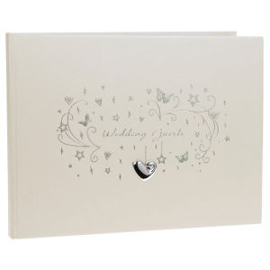 Star Cluster Wedding Guest Book