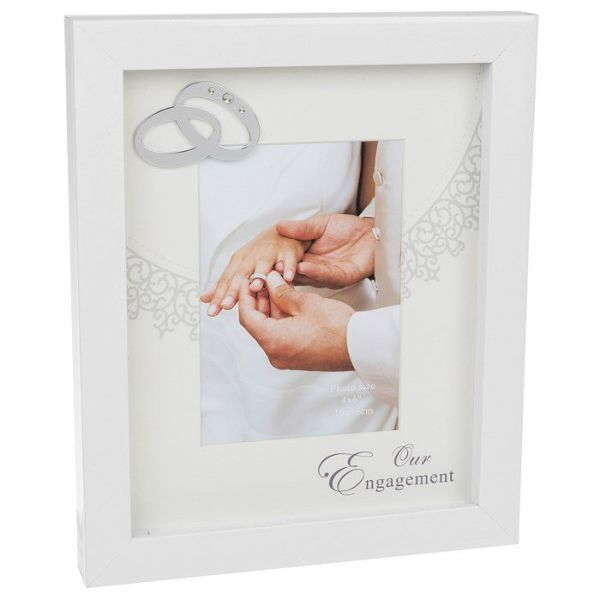 engagement picture frames happy gloss white engagement frame picture frames old railway