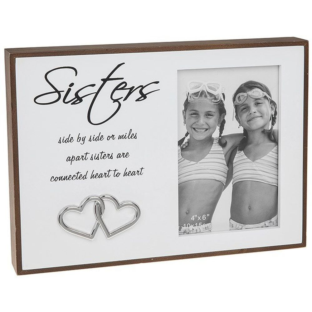 Love Lines Sister 4 x 6 Frame - Picture Frames - Old Railway Line ...