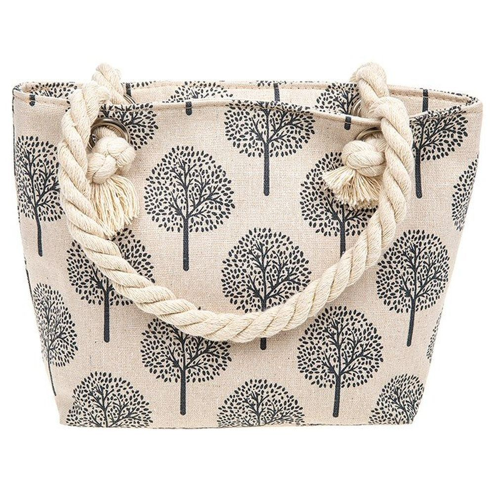 Tree of Life Cream Handbag