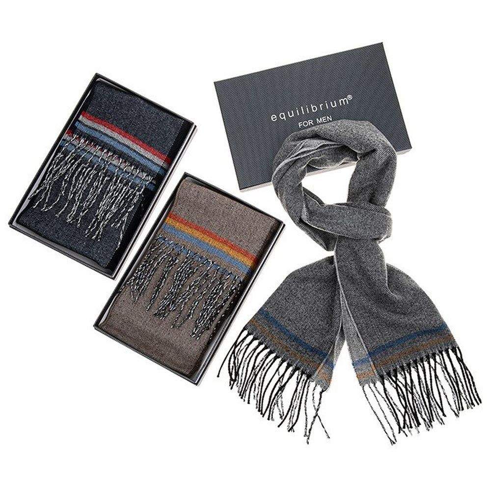 Equilibrium Men 3 Stripes Scarf (Choice of 3)