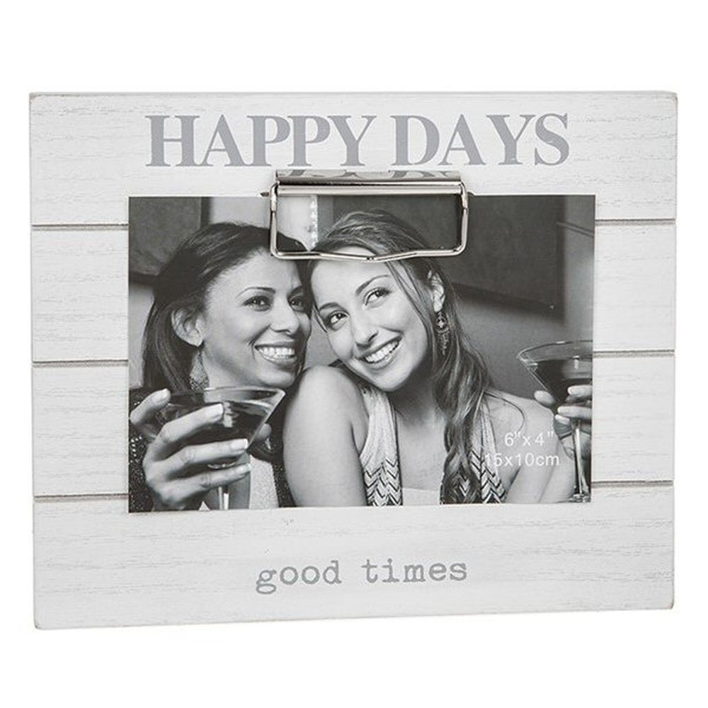 Clipboard Photo Happy Days Frame