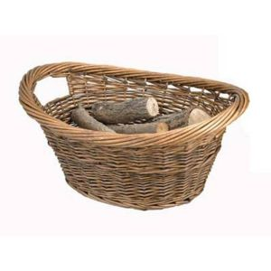 Manor 55cm Brown Willow Log Basket
