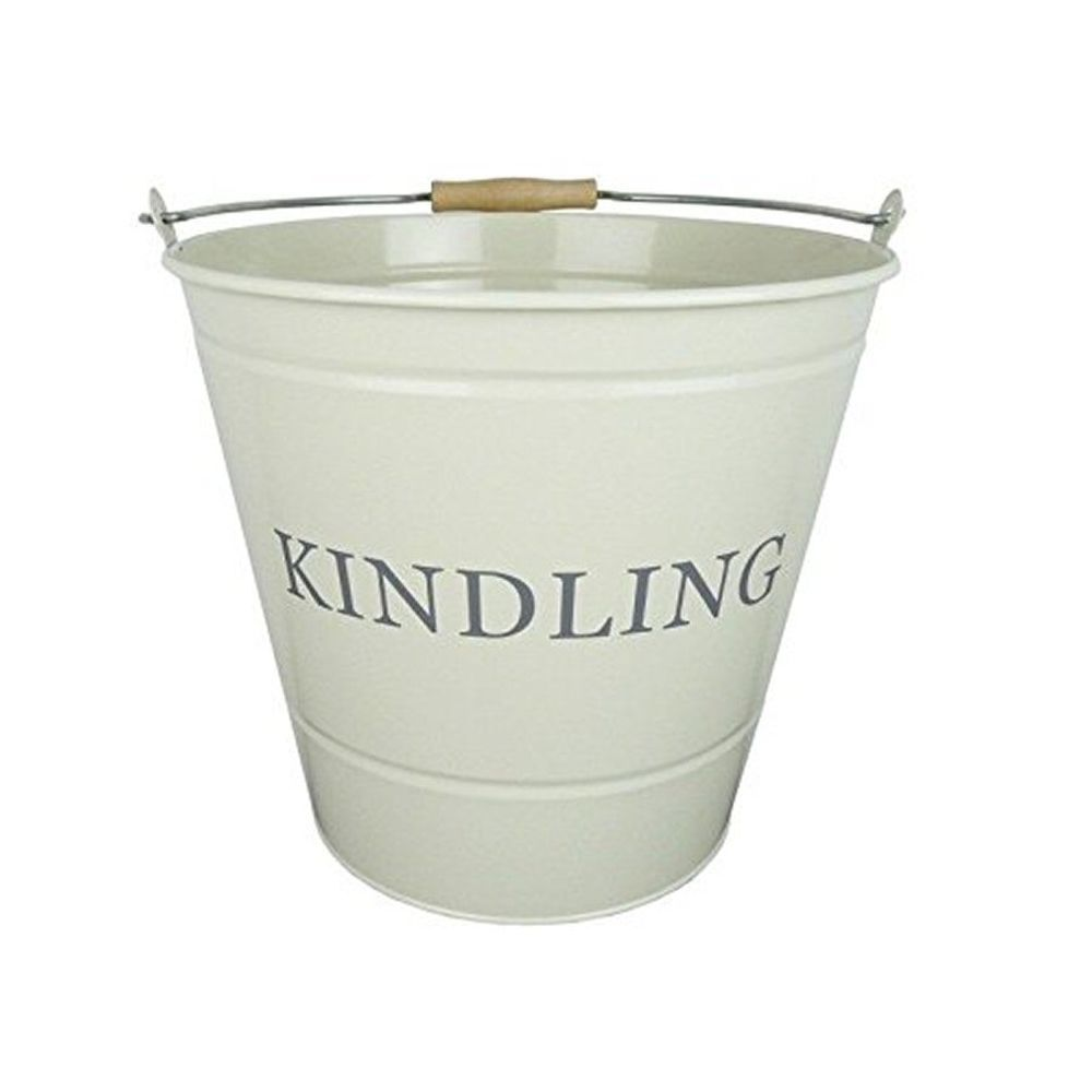 Manor 32cm Fireside Cream Kindling Bucket