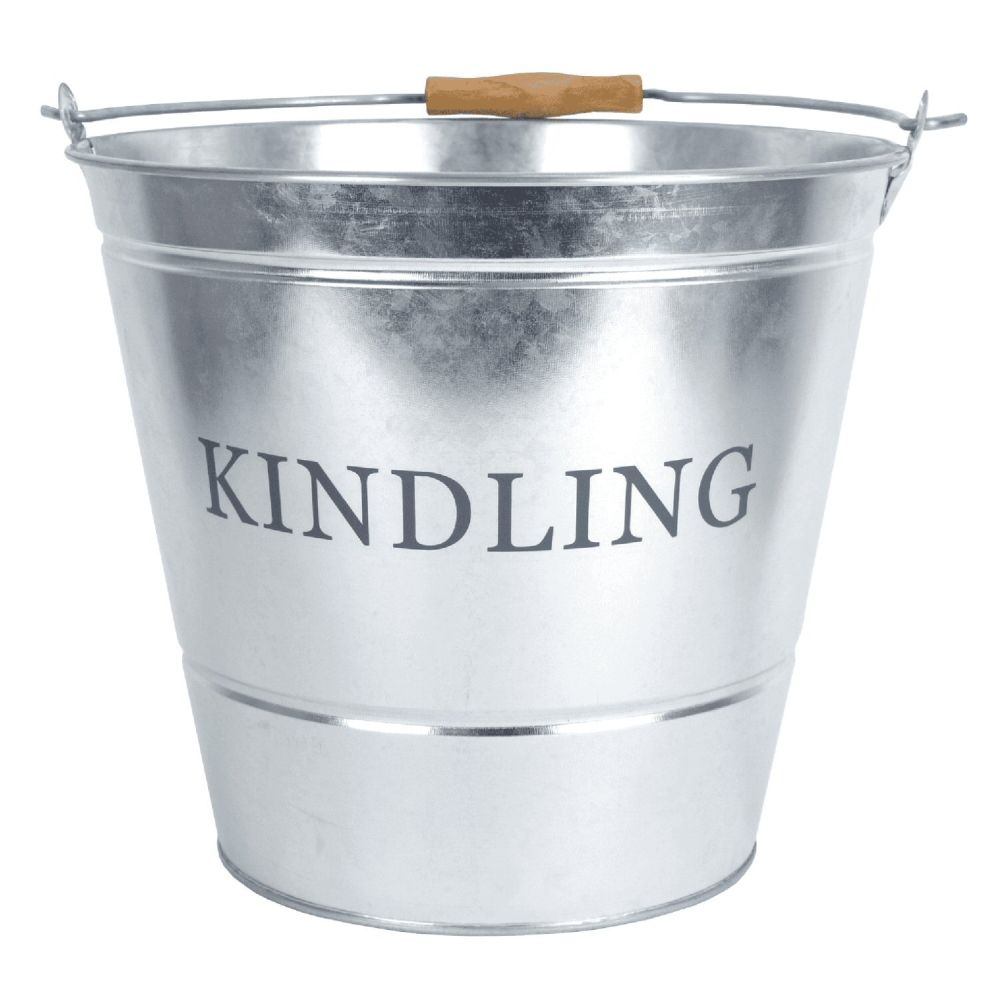 Manor 32cm Galvanised Kindling Bucket
