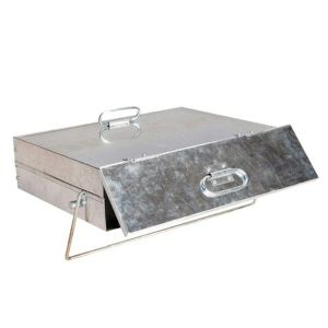 Manor Galvanised Ash Carrier Box