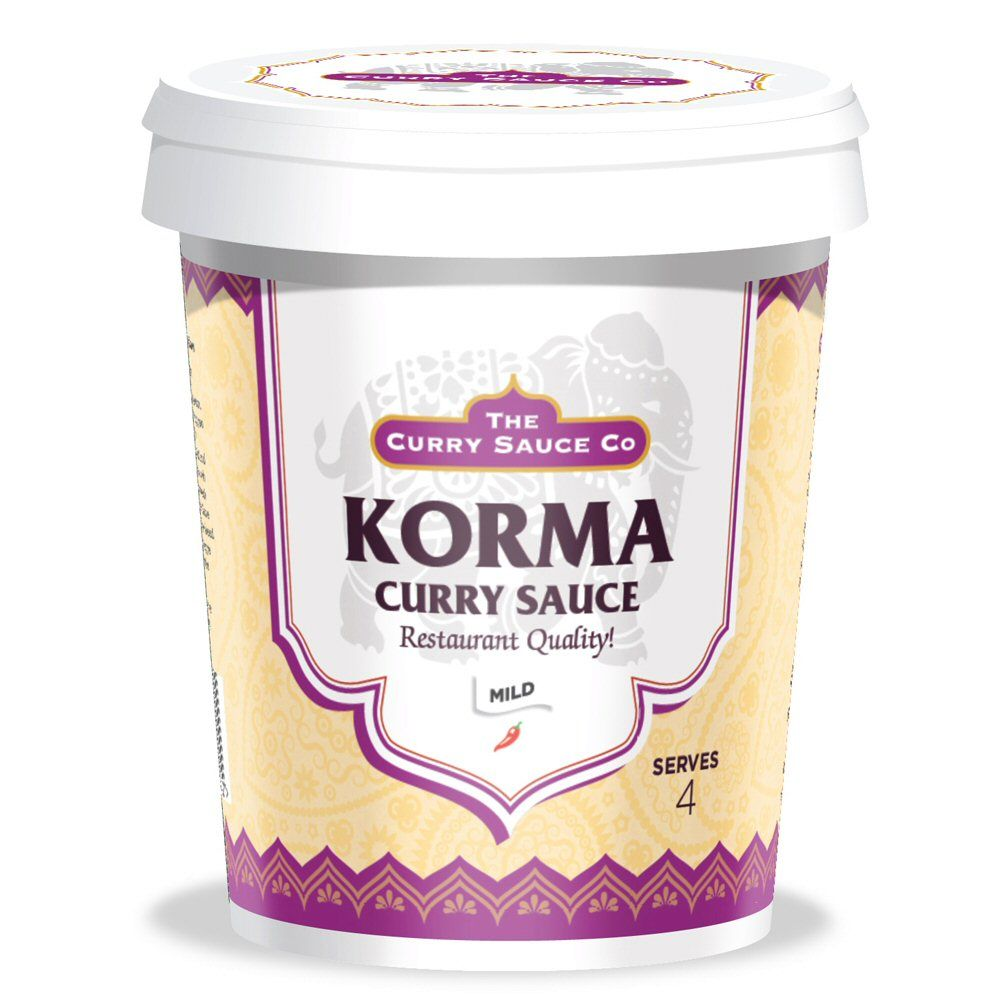 The Curry Sauce Co Korma Curry Sauce 475g