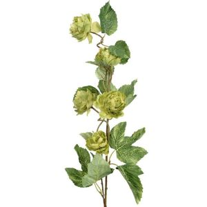 76cm Artificial Green Hop Spray
