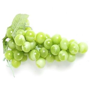 20cm Artificial Green Grapes Bunch