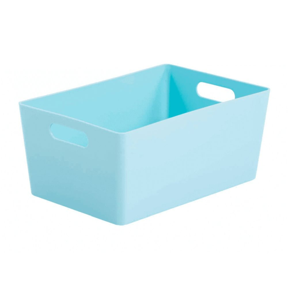 Wham 4.02 Duck Egg Blue Rectangular Studio Basket