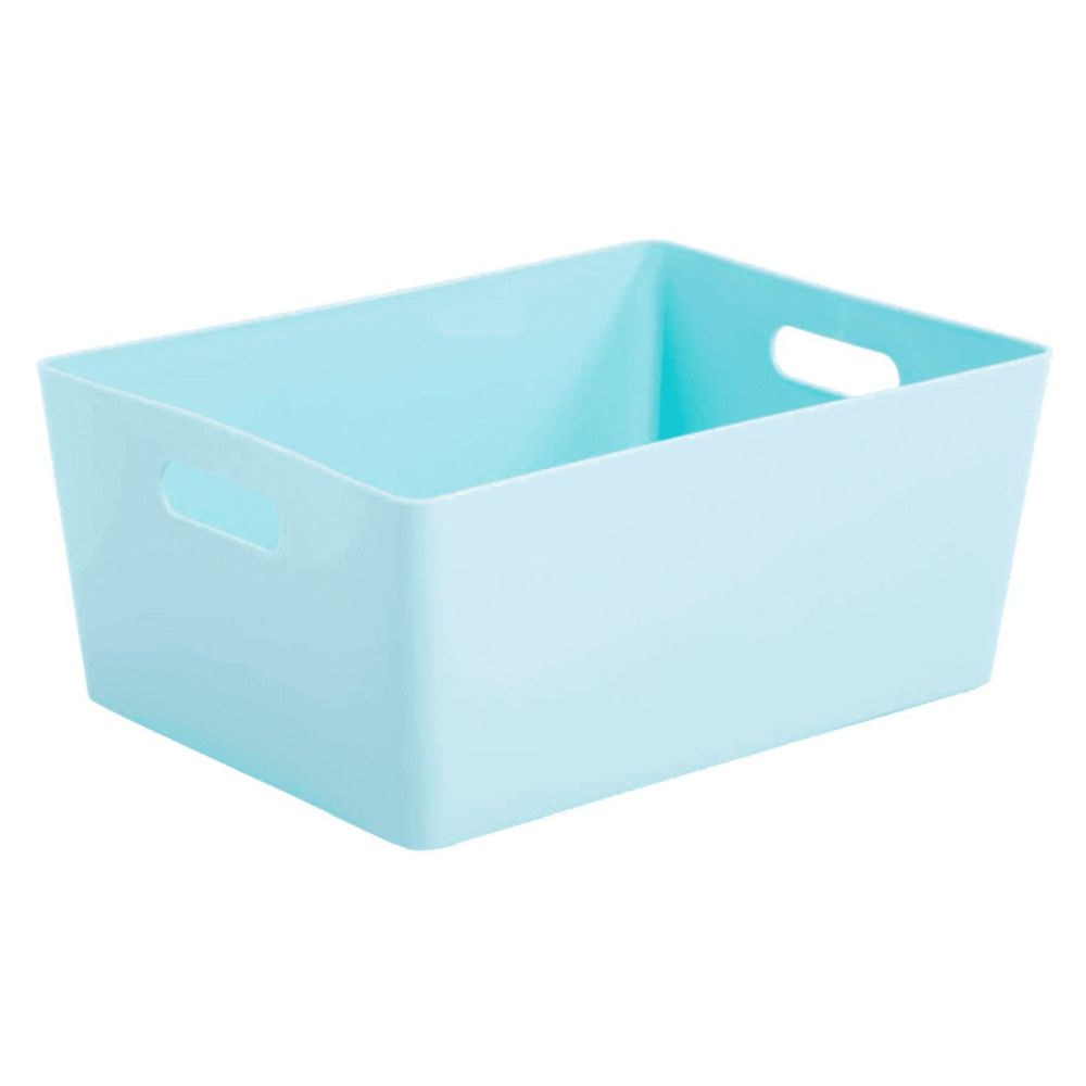 Wham 5.02 Duck Egg Blue Rectangular Studio Basket