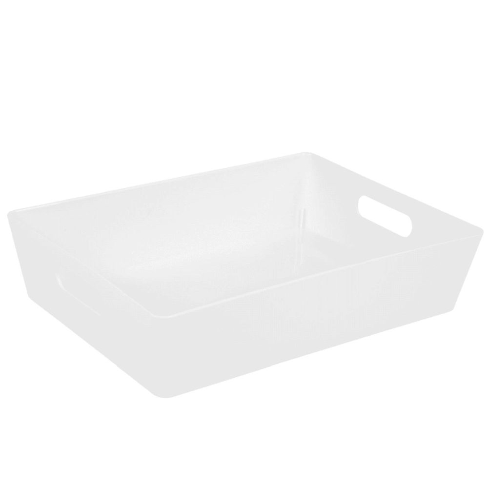 Wham 5.01 Ice White Rectangular Studio Basket