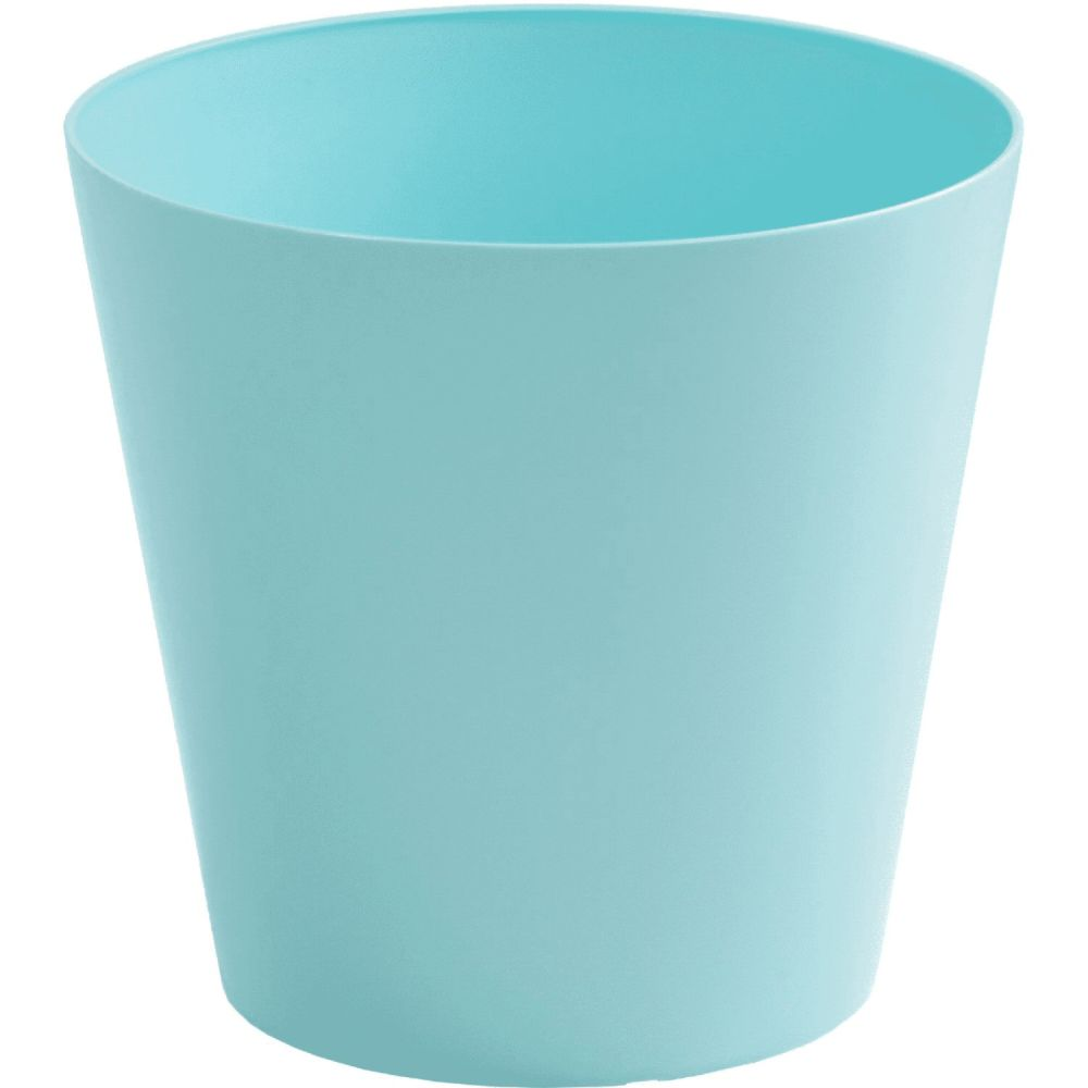 Wham 30cm Duck Egg Blue Round Planter Cover / Waste Bin