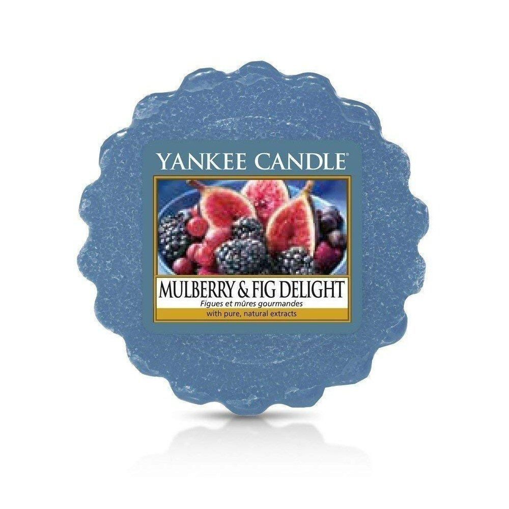 Yankee Candle Mulberry & Fig Delight Wax Melt Candle - 1556249E