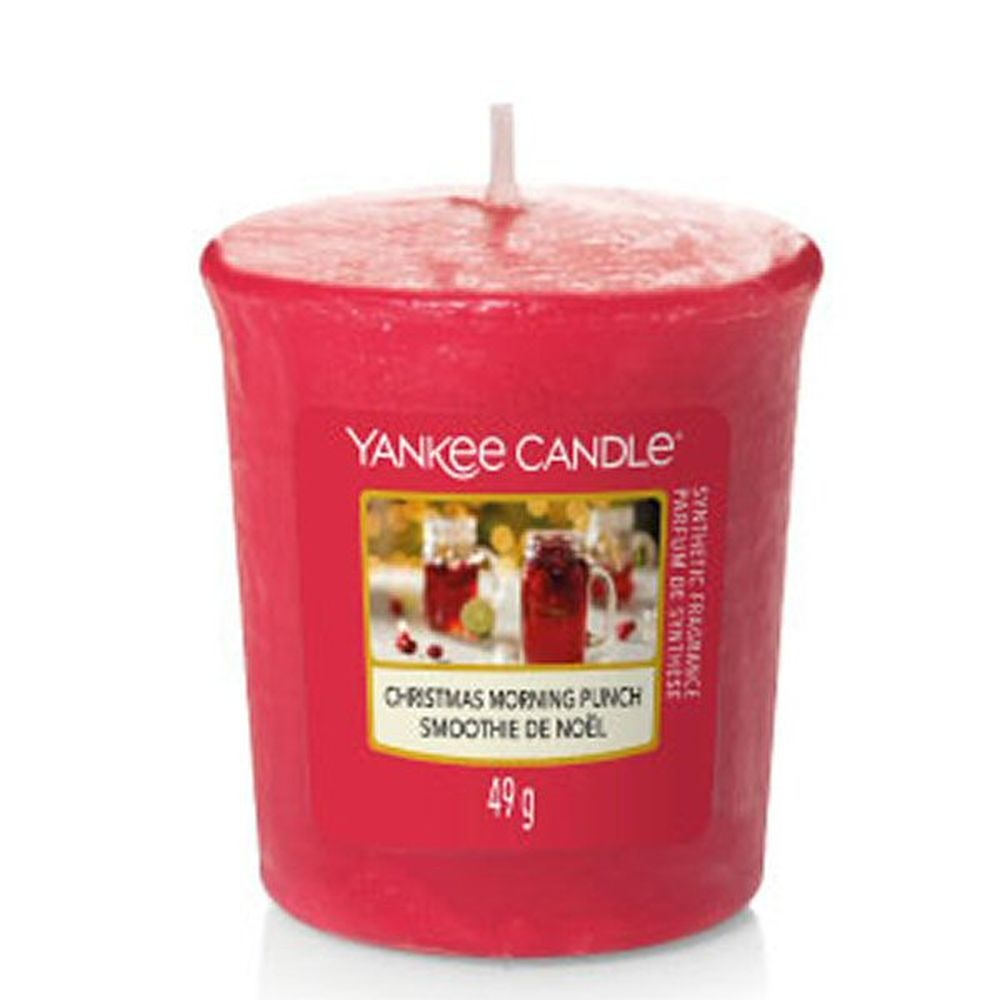 Yankee Candle Christmas Morning Punch Sampler Votive