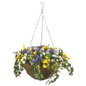 Smart Garden 30cm Pansy Hanging Basket