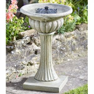 Smart Garden 62cm Solar Powered Rochester Birdbath