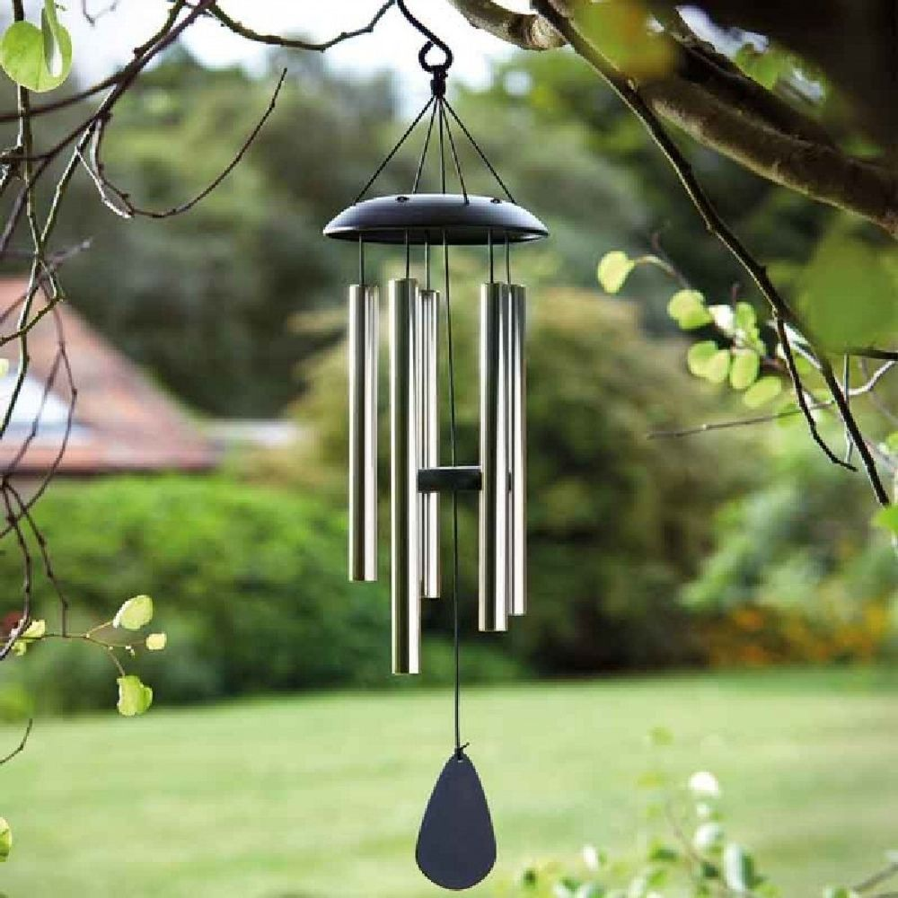 Smart Garden Golden Black Windchime
