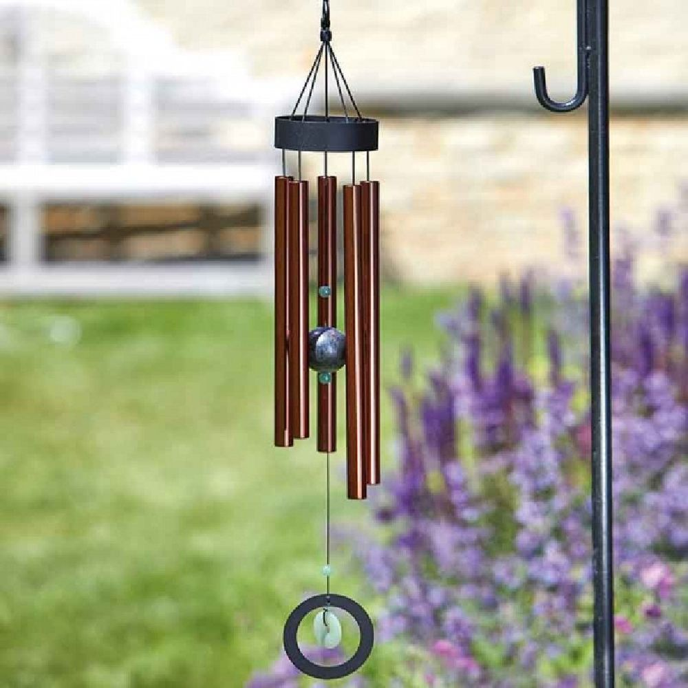 Smart Garden Copper Jade Windchime